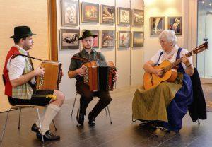 musikalische Unterhaltung mit der Palmkazl-Musi
